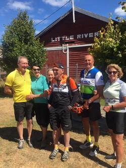 BUG members - New Zealand Cycle Tour 201