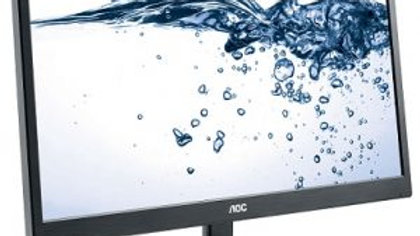AOC 23.6″ Full HD LCD Monitor (VGA and 2 x HDMI)