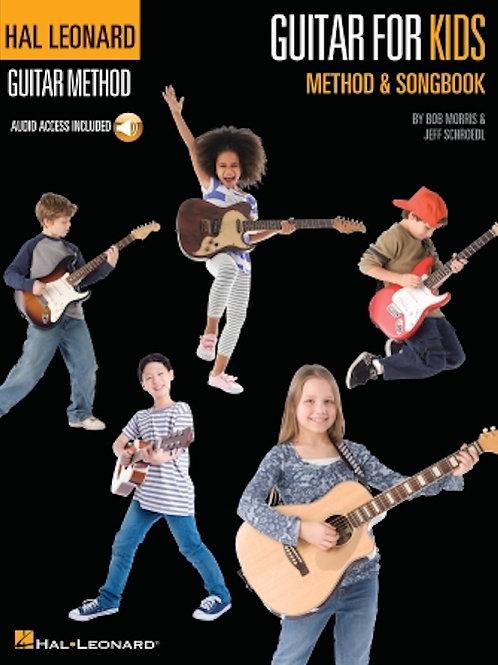 Guitar for Kids Method & Songbook Hal Leonard Guitar Method