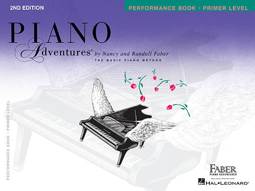 Primer Level – Performance Book – 2nd Edition Piano Adventures®