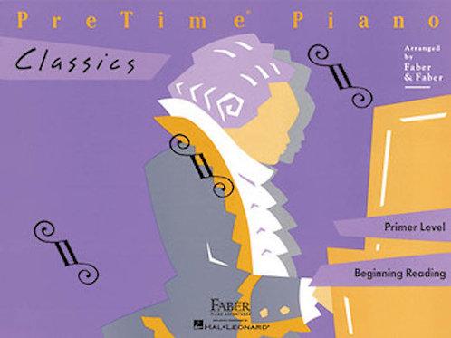 PreTime® Piano Classics Primer Level