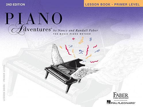 Primer Level – Lesson Book, 2nd Edition Piano Adventures®