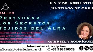 PRÓXIMAMENTE NUEVO TALLER EN SANTIAGO: Restaurar los Secretos Tejidos del Alma