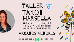 TALLER TAROT MARSELLA - ARCANOS MENORES