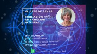 FORMACIÓN ONLINE EN SANACIÓN INTEGRAL 2021