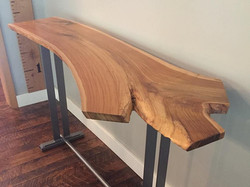 Teak Entryway Table - 4