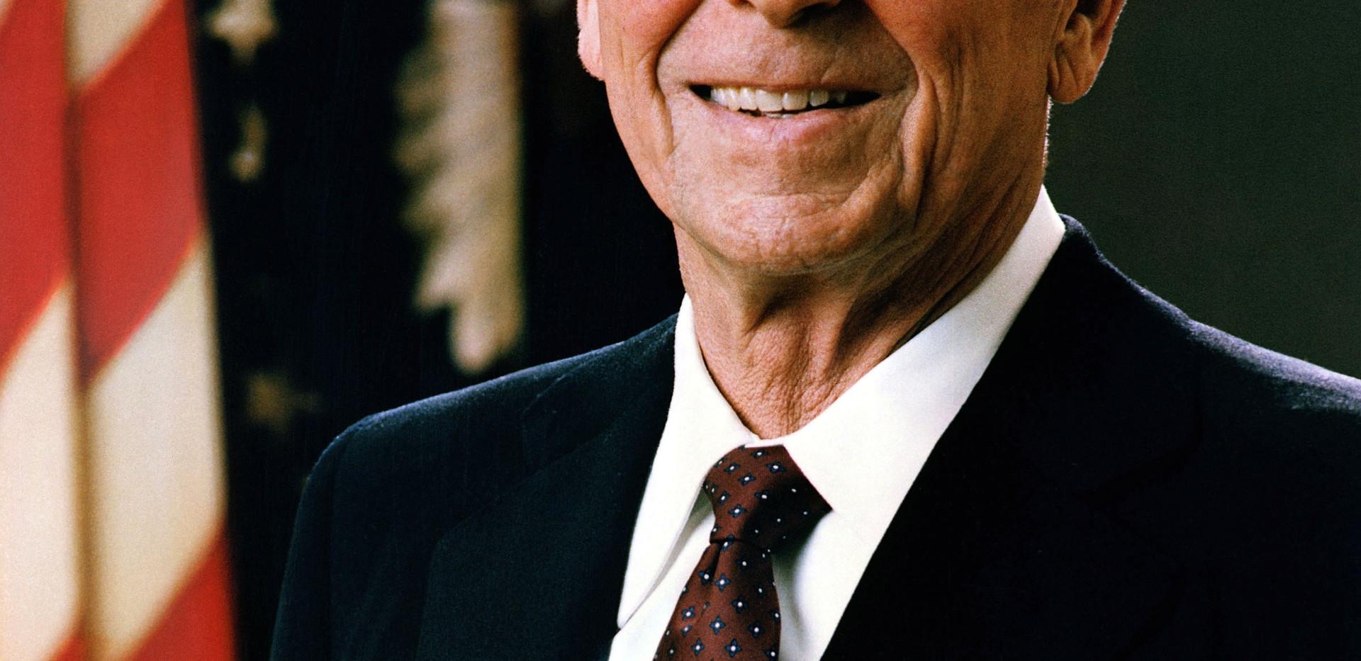 Ronald Reagan's presidential portrait