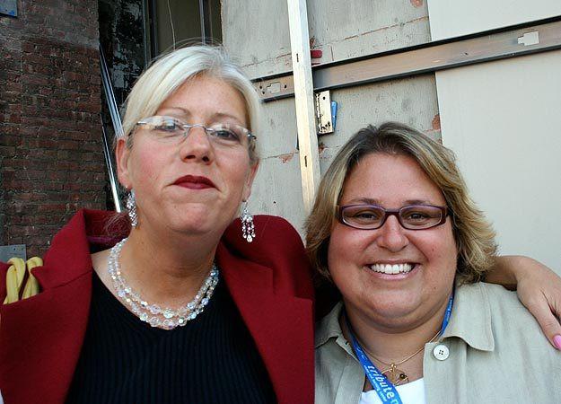 Linda Gormley and Tania Head