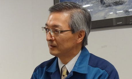 Yoshizawa Atsufumi, one of the Fukushima 50 who stayed behind