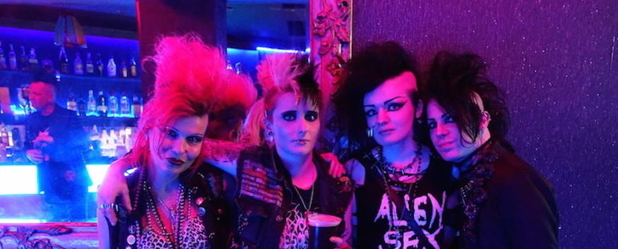 Punks in London