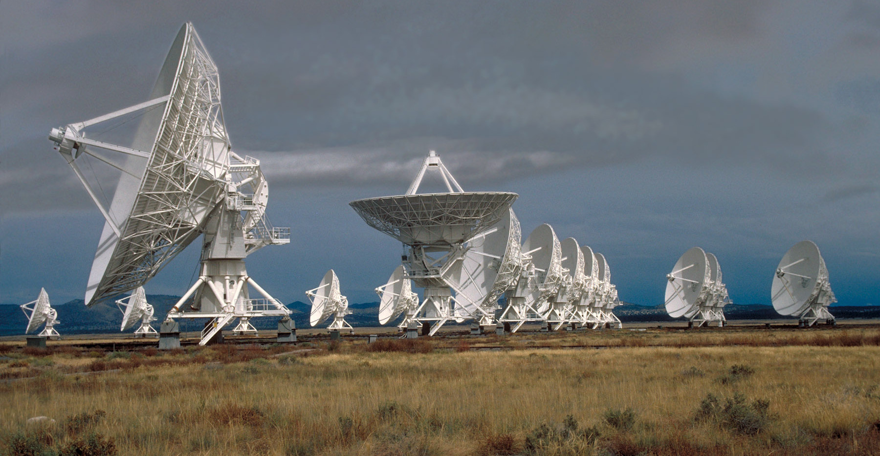 The VLA (Very Large Array) in New Mexico