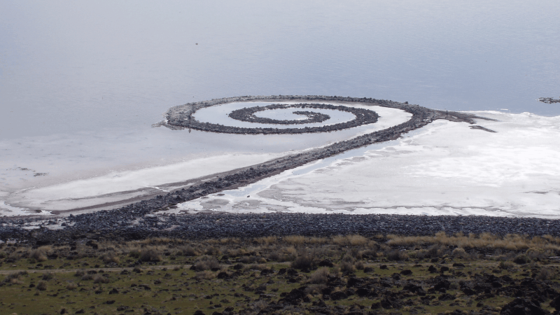Spiral Jetty from Rozel Point