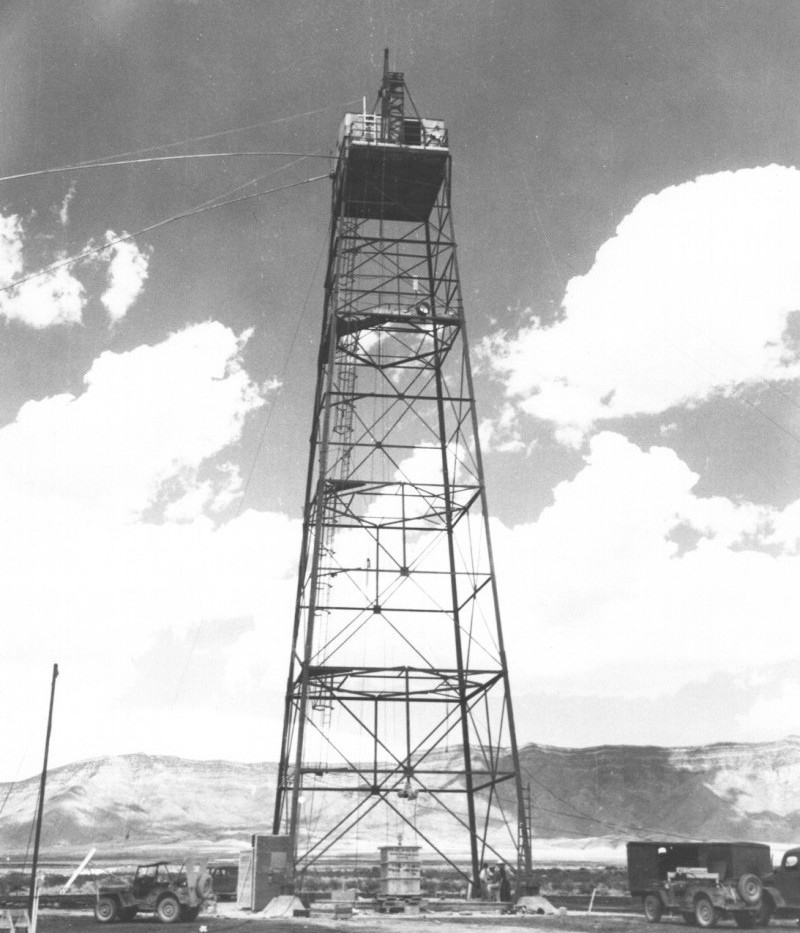 The Tower from The Trinity Test