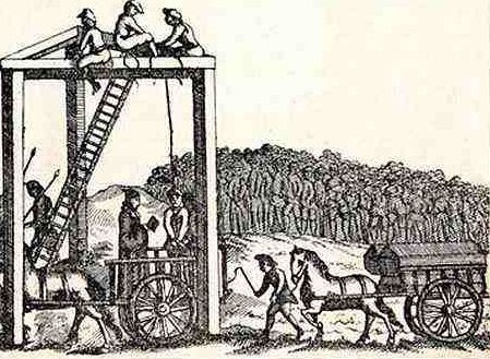 Don't Walk Under the Gallows!