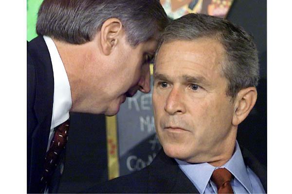 President George W. Bush on September 11th