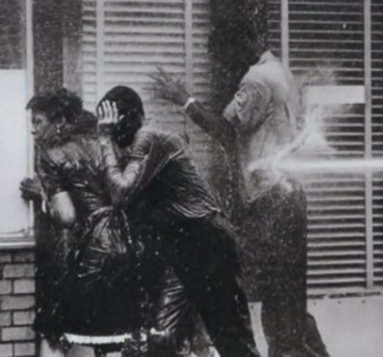 Hoses used on demonstrators in Birmingham, AL 1963