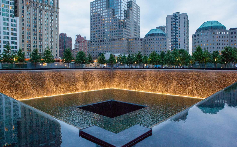 Ground Zero Reflecting Pool in New York City