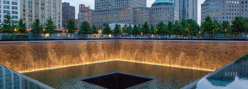 Ground Zero Reflecting Pool in New York City