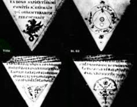 Scanned pages of the Triangle Manuscript