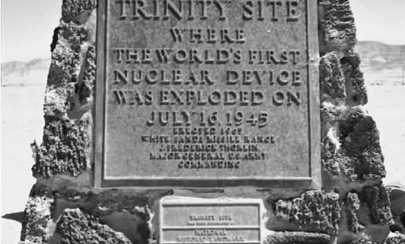 Obelisk at the Trinity Test Site