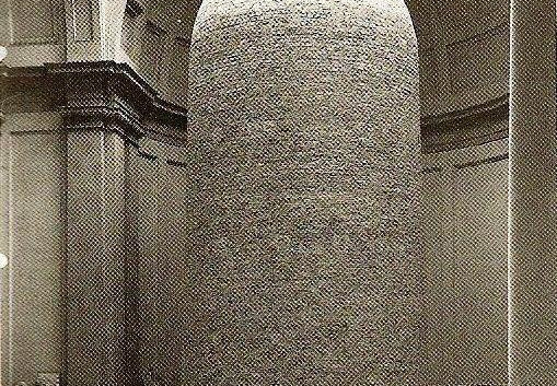 Michelangelo's David bricked up during WWII