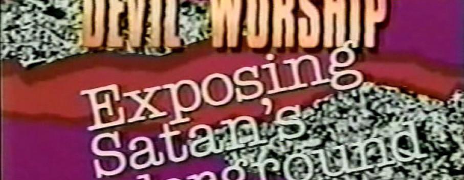 Title Card for The Geraldo Show: Devil Worship Exposing Satan's Underground