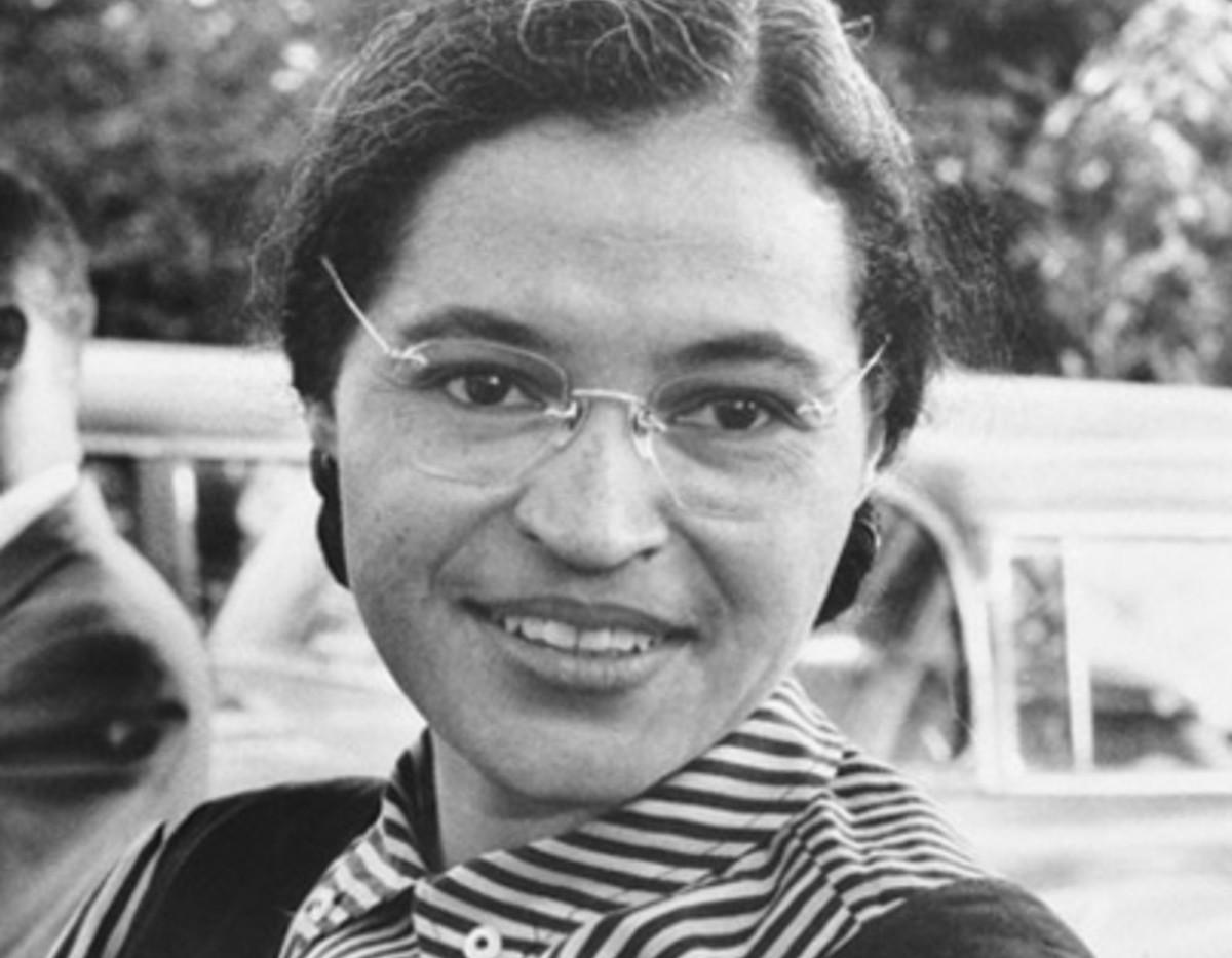 The lovely Rosa Parks