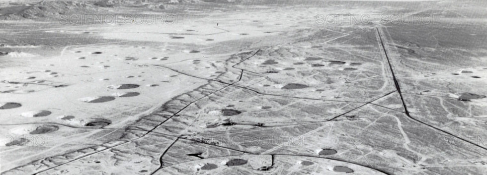 Craters of the Nevada Test Site at Yucca