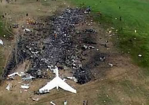 Crash Site of Flight 93