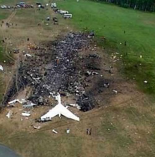 Crash Site of Flight 93