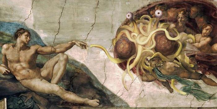 Art of the Flying Spaghettig Monster