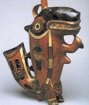 Nazca Whale Pottery