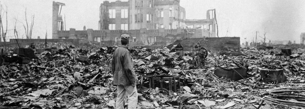 Hiroshima after the bombing