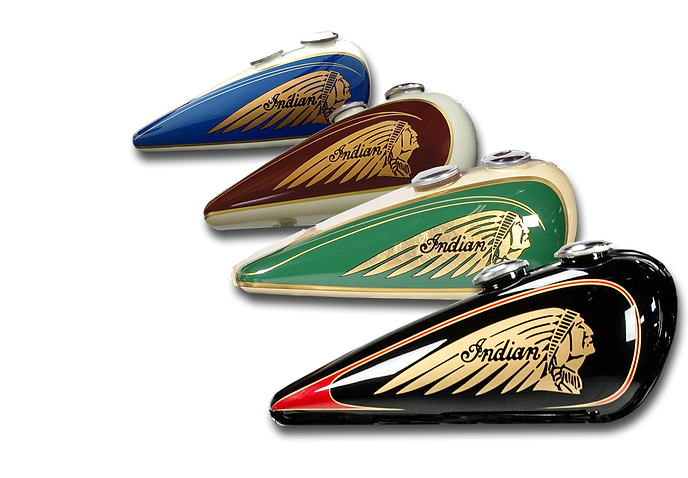 With A Custom Paint Design From Kiwi Indian Your Motorcycle Will Be Sure To Turn Heads Years Of Experience We Can Color Scheme