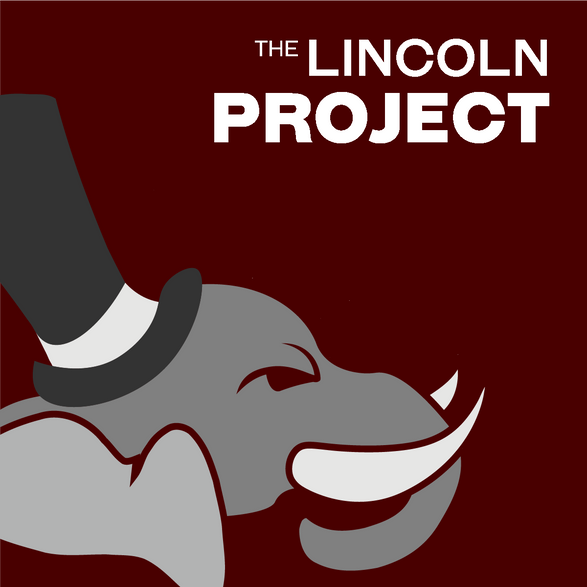 Lincoln Project Business Card: Front