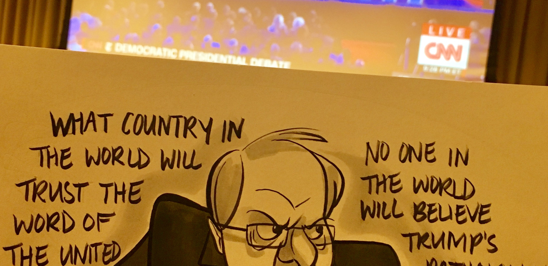 Bernie Sanders (Debate Watch Party)