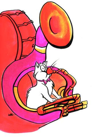 Tuba Cat