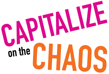 Capitalize on the Chaos: Logo