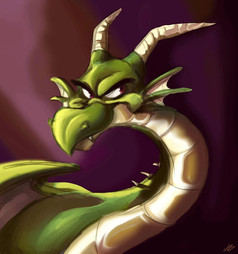 Dragon Character Portrait