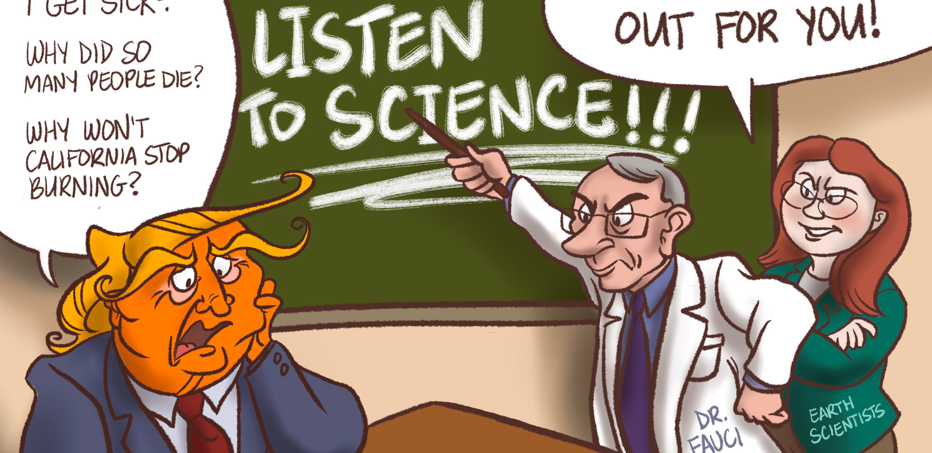 Listen to Science