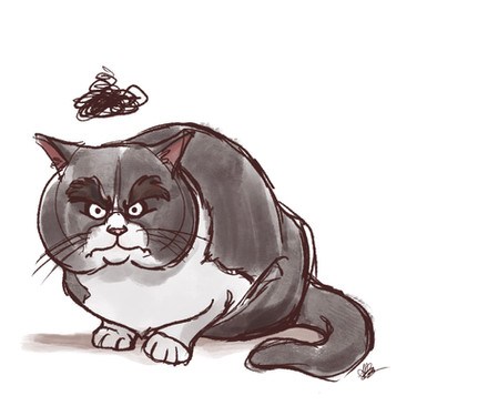Quentin Blake Cat