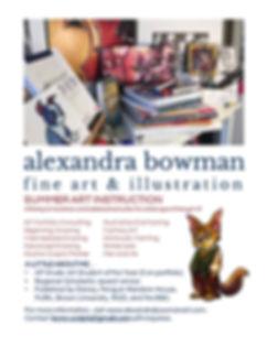 Alexandra Bowman Art Instruction