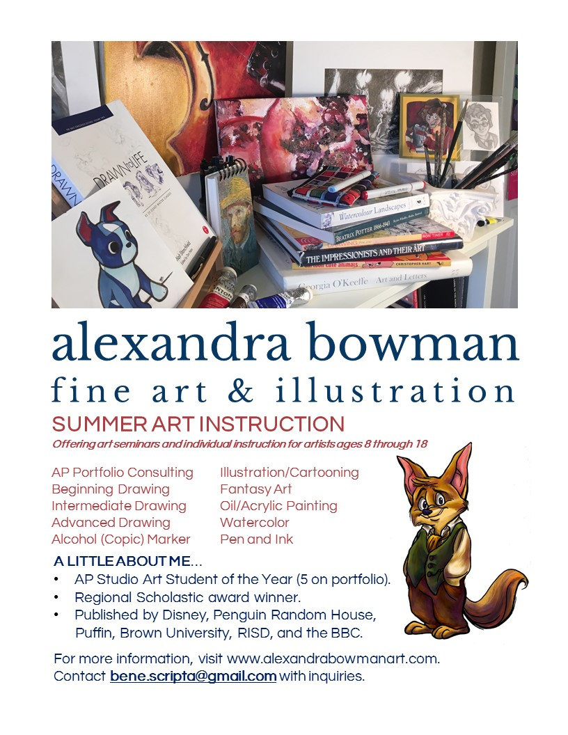 Alexandra Bowman Art Instruction