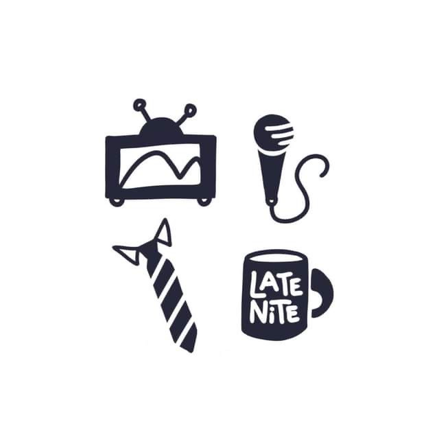 Late-Night Icons: Rough Sketches