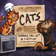 Cats Live Commentary Podcast Cover