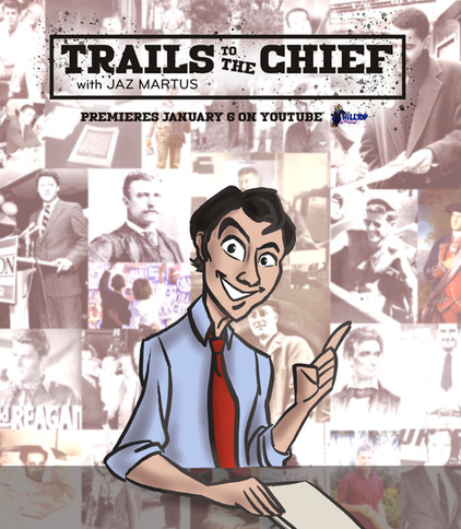 """""""Trails to the Chief"""" Poster"""