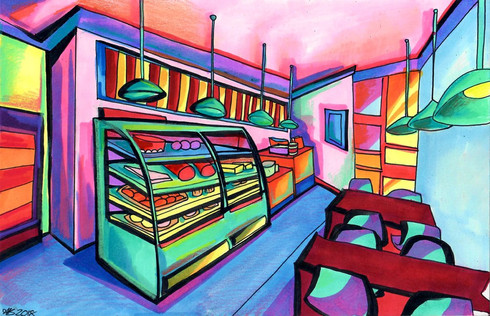 Bakery Interior