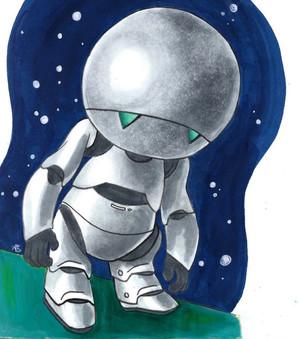 Manically Depressed Robot