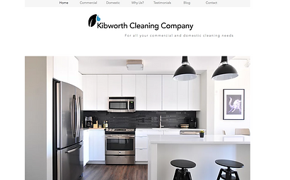 Kibworth Cleaning Company Website