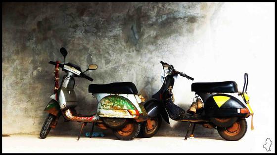 Les scooters de Wallis